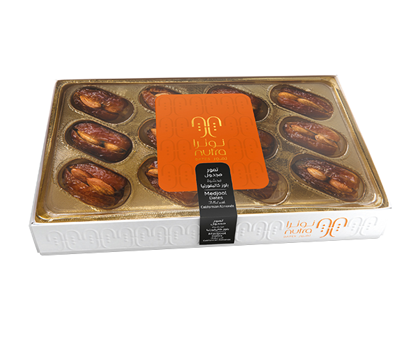Medjool Dates Filled with Californian Almonds 225 g
